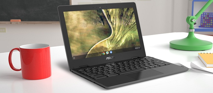 Ilustrasi: ASUS Chromebook C204MA (credit: pbtech.co)