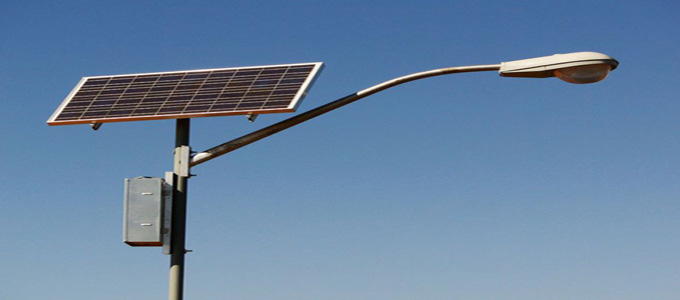 Solar Cell Street Lamp (credit: pv-tech)