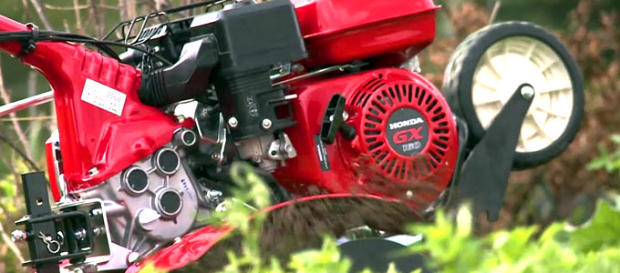 Traktor mini Honda FJ500 (youtube: Honda Equipment)