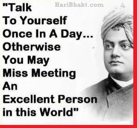Swami Vivekananda on Good man and Evil thoughts