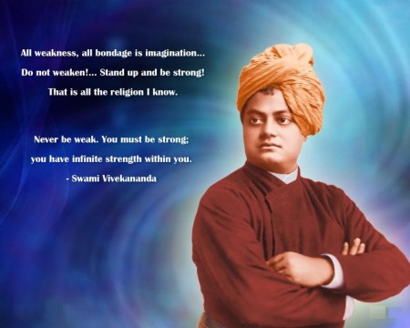 Swami Vivekanand was Fearless, Brave and with positive attitude