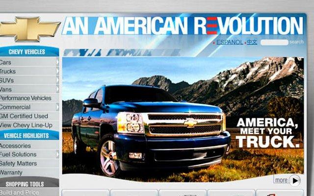 Chevy.com website
