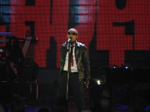 John Legend performs at Harlem's Apollo Theater