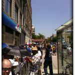 Long lines at MJ public memorial in Harlem