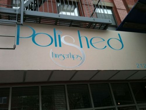 Polished Finger Tips opens in Harlem, another new business on Frederick Douglass Boulevard