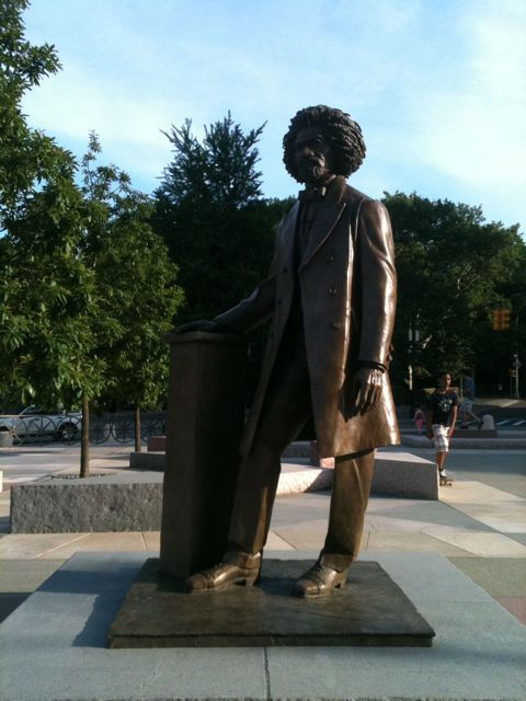 Frederick Douglass Circle in Harlem has new rules