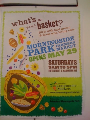 Visit The Farmers Market in Harlem's Morningside Park This weekend!!!