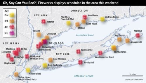 Harlem Staycation: where to see the fireworks?