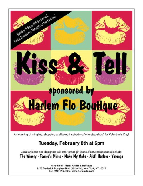 Harlem businesses come together to 'Kiss and Tell'