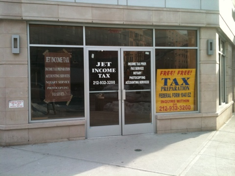 Jet Income Tax opens in Harlem, next door to Franz James Floral Boutique