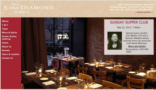 The 5 and Diamond (Supper Club Sundays)