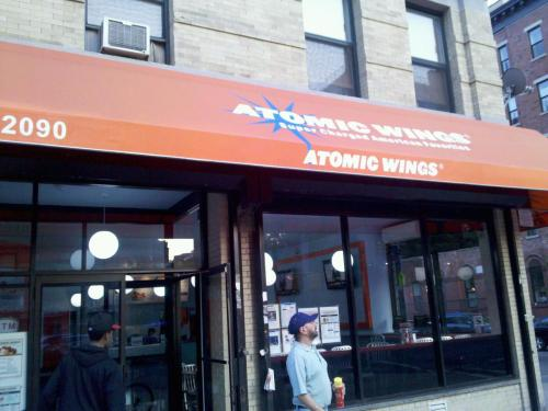 Atomic Wings Reopens On Harlem's Gold Coast