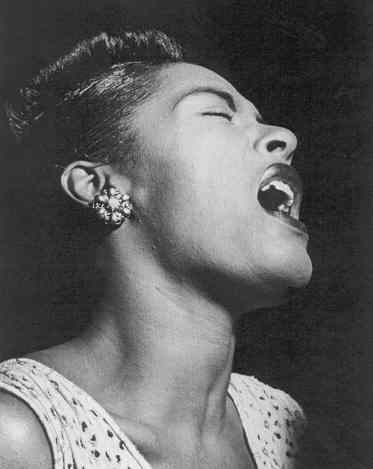 QUOTE:  Billie Holiday