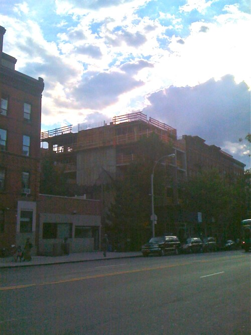 A(nother) Building Grows On Harlem's Gold Coast / Restaurant Row