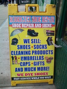 Shoe Repairs and More In Harlem