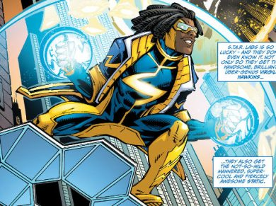 alg recharged DC Comics Hero (now) lives in Harlem