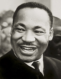 mlk smile QUOTE:  Martin Luther King, Jr.