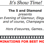The 5 and Diamond Oscar Party tonight!!!