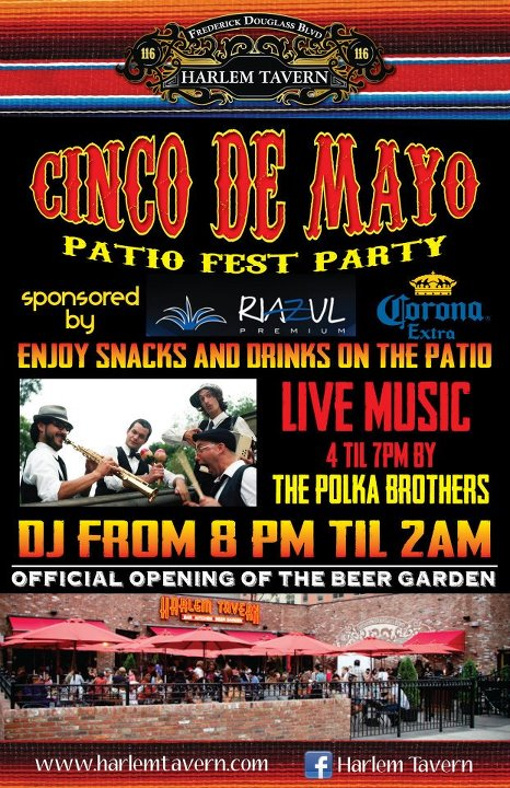 394322 400919083282075 142572732450046 1182917 2028414701 n Cinco De Mayo at Harlem Tavern