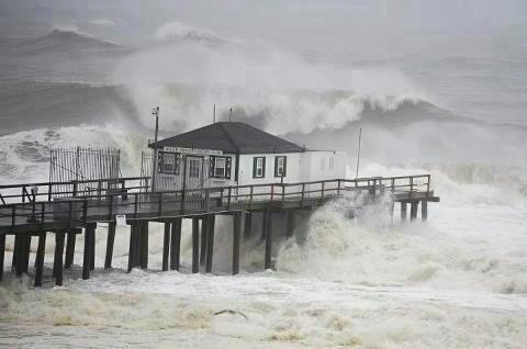 Hurricane Sandy Hits New Jersey, New York And Connecticut