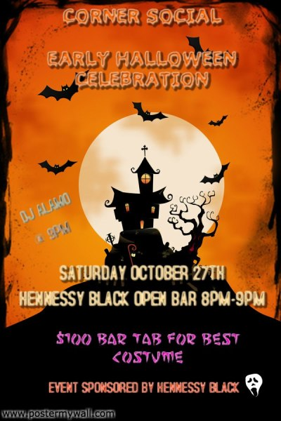 602629 241539719306487 520767345 n Corner Social   Early Halloween Celebration