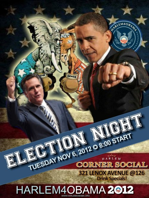 Where To Watch AND CELEBRATE The Presidential Election in Harlem