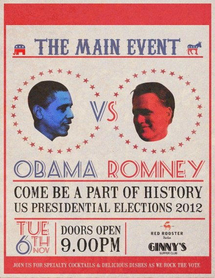 Red Rooster   The Main Event Obama Vs. Romney