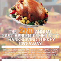 Ricardo Steak House - East Harlem Community Thanksgiving Giveaway Today!