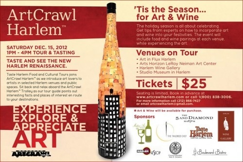 Come to Harlem Art Crawl this weekend!