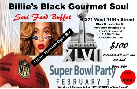 45 SUPER BOWL XLVII In Harlem!! Where To Go