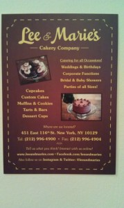flyer 179x300 A Cakery Comes to Harlem