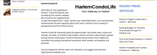 HarlemCondoLife In The News: The Morningsider (12/31/2011)