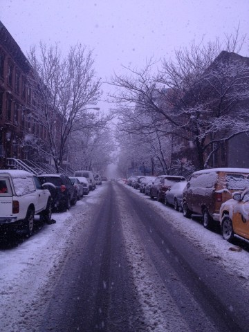 Snowy Morning In Harlem