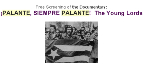 Screen Shot 2013 05 08 at 4.35.34 PM PALANTE, SIEMPRE PALANTE!  The Young Lords   Documentary