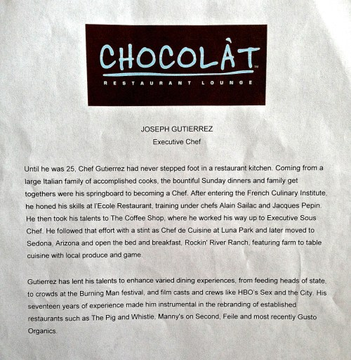 CHOCOLÀTS Sneak Peek Of New Menu   Harlem