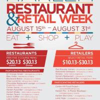 Harlem Restaurant & Retail Week Aug 15th - 31st