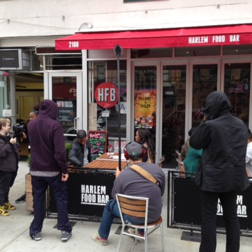Harlem hosts filming of New Oprah series Empire City