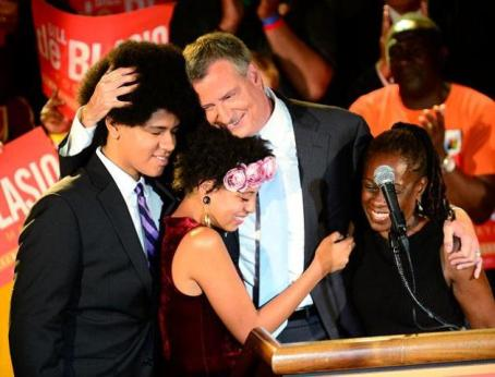 Congratulations Mayor elect of New York Bill de Blasio