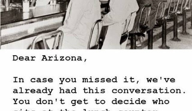 Dear Arizona, A Reminder Of Another Civil Rights Struggle