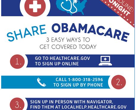 Public Service Message: You still have time to sign up for Obamacare