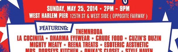Sweet Spot Festival Sunday, May 25th at the West Harlem Pier!