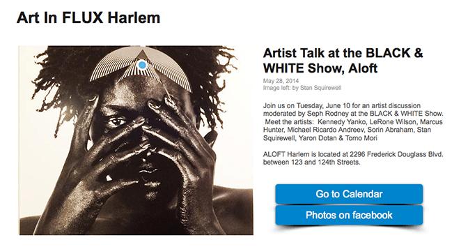 Art in FLUX Harlem at ALOFT
