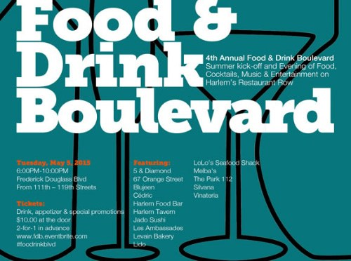 4TH ANNUAL FOOD AND DRINK BOULEVARD on FDB May 5th