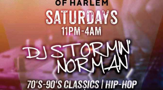 DJ Stormin' Norman Goes Retro at Angel of Harlem