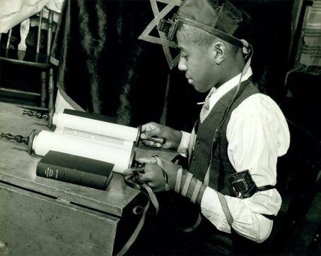 Young Jewish Boy, Harlem, 1960's