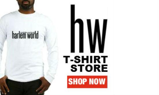 Shop Harlem: New Harlem World (HW) T-Shirt Store