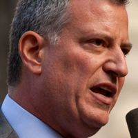 Mayor Bill de Blasio And Others Announce New Caregiver Law