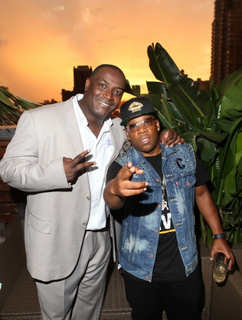 DJ Jon Quick and Michael Bivins