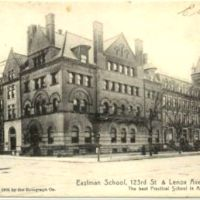 Eastman School The Best Practical School in America Harlem 1905