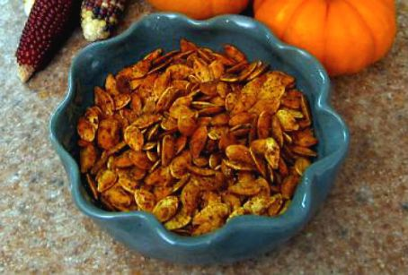 Cajun Roasted Pumpkin Seeds1